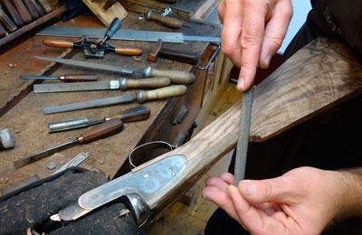 Waffenobermeier Büchsenmacher Werkstatt